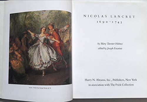 Nicholas Lancret 1690-1743: Holmes, Mary Tavener