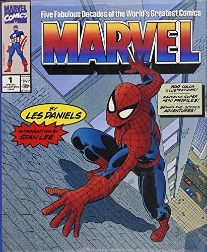 9780810938212: Marvel: Five Fabulous Decades of the World's Greatest Comics ([Marvel comics)