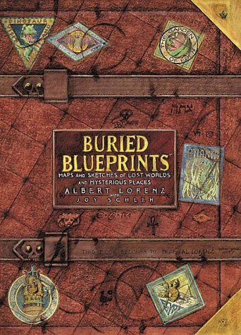 9780810941106: Buried Blueprints: Maps and Sketches of Lost Worlds and Mysterious Places