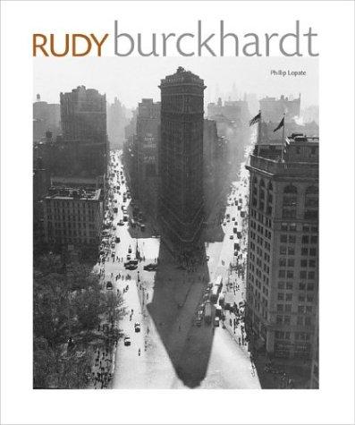 Rudy Burckhardt (INSCRIBED): Phillip Lopate; Vincent