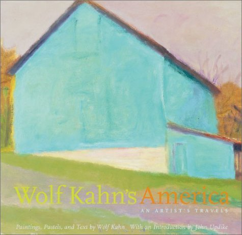 9780810945470: The Wolf Kahn's America: An Artist's Travels