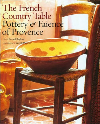 9780810945784: The French Country Table: Pottery & Faience of Provence