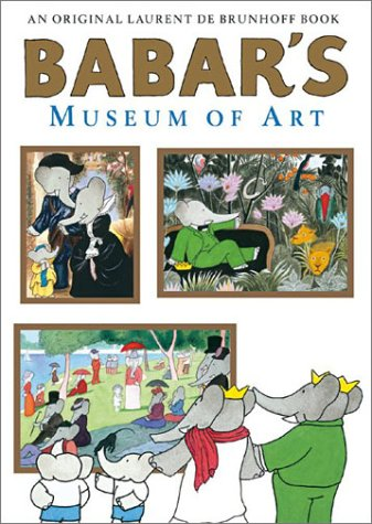 9780810945975: Babar's Museum of Art