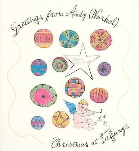 9780810949621: Greetings From Andy (Warhol): Christmas At Tiffany's