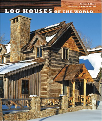 9780810957466: Log Houses of the World