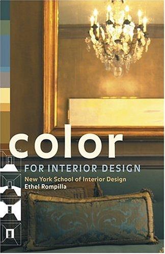 9780810958883: Color for Interior Design