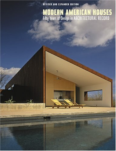 9780810959347: Modern American Houses: Fifty Years of Design in Architectural Record