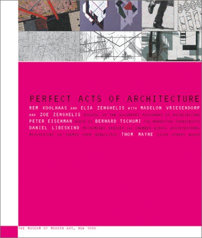 9780810962224: Perfect Acts of Architecture (Museum of Modern Art Books)