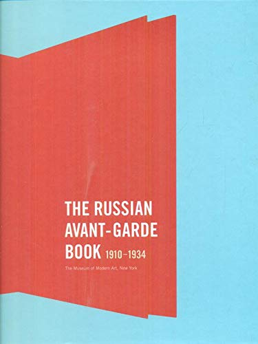 9780810962248: The Russian Avant-Garde Book: 1910-1934