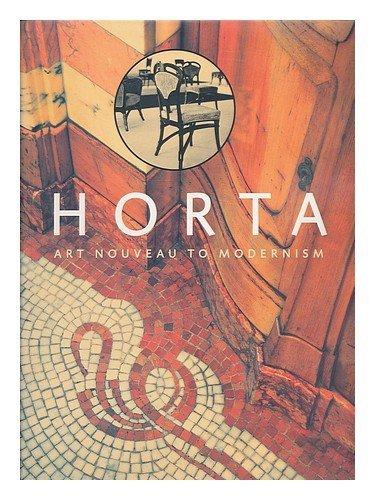 9780810963337: Horta: Art Nouveau to Modernism