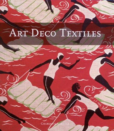 9780810966048: Art Deco Textiles
