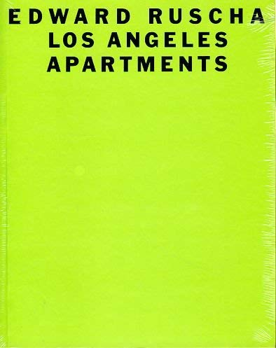 9780810968080: Edward Ruscha Los Angeles Apartments