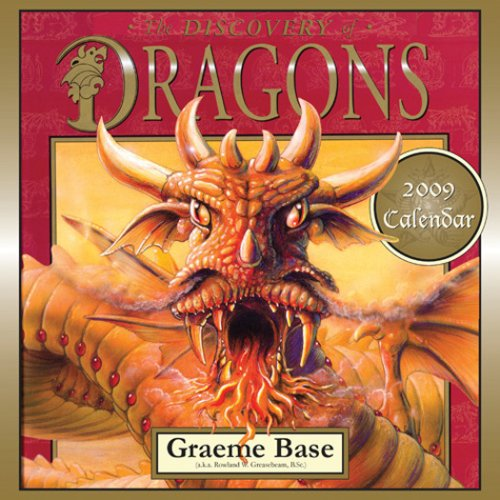 9780810972476: Discovery Of Dragons 2009 Wall Calendar