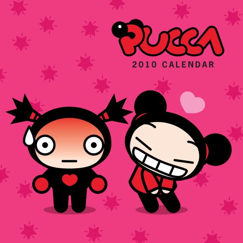 9780810977983: Pucca Funny Love 2010 Wall Calendar