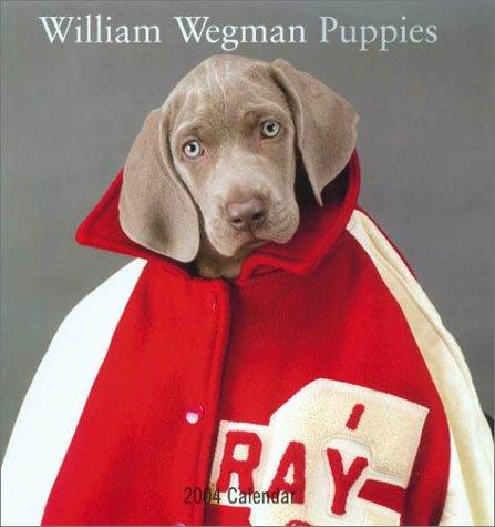 9780810978737: William Wegman Puppies 2004 Wall Calendar