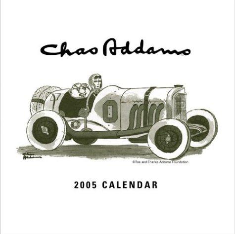 9780810979666: Charles Addams 2005 Wall Calendar