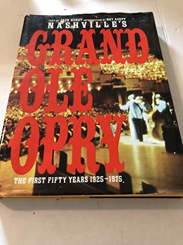 Nashville's Grand Ole Opry: Hurst, Jack