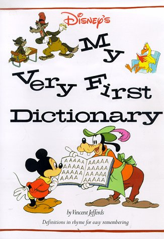 9780810981805: Disney's My Very First Dictionary