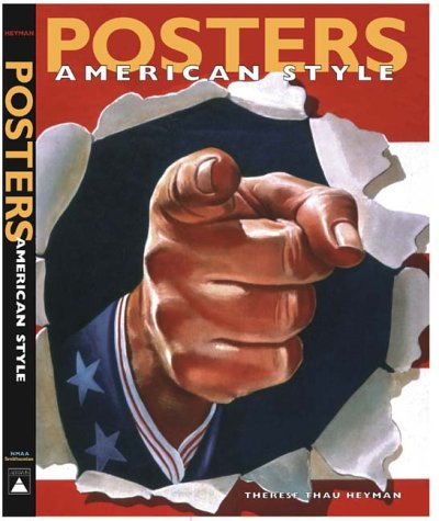 9780810982024: POSTERS AMERICA STYLE (Abradale Books)