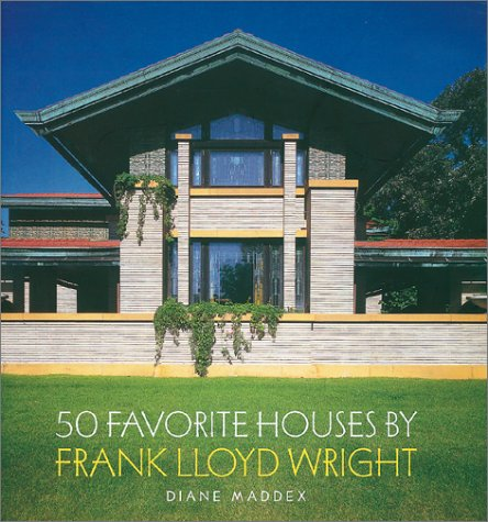 9780810982123: 50 Favorite Houses by Frank Lloyd Wright