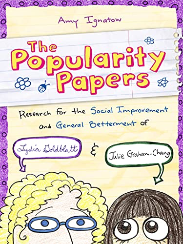 9780810984219: Research for the Social Improvement and General Betterment of Lydia Goldblatt and Julie Graham-Chang (The Popularity Papers #1)