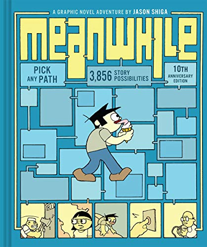 9780810984233: Meanwhile: Pick Any Path. 3,856 Story Possibilities. (Top Ten Great Graphic Novels for Teens)