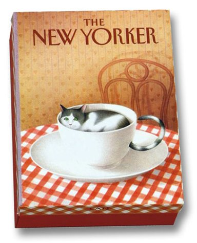 9780810985520: The New Yorker: Cats Notecards in a Two-Piece Box