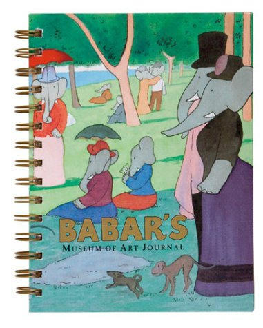 9780810985711: Babar's Museum Wire-o Bound Blank Journal