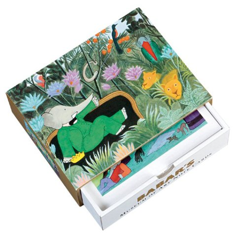 9780810985728: Babar's Museum of Art: Notecards