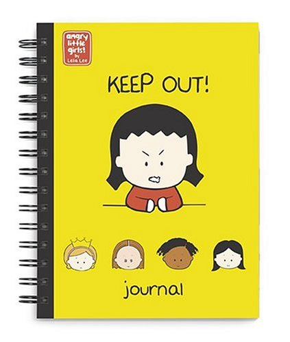 9780810987579: Angry Little Girls Journal: Keep Out!
