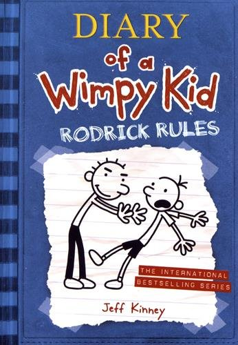 Diary of a Wimpy Kid 02. Rodrick Rules (Paperback)