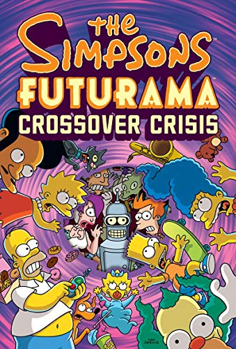 9780810988378: The Simpsons Futurama Crossover Crisis