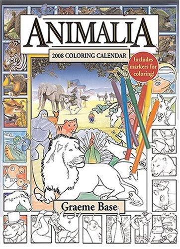 9780810988699: Animalia 2008 Coloring Calendar
