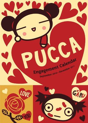 9780810989443: Pucca Engagement Calendar: September 2010-December 2011