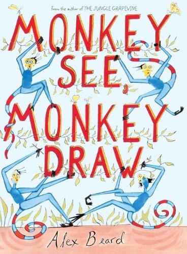 9780810989702: Monkey See, Monkey Draw