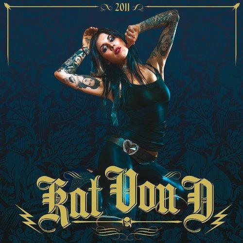 9780810991569: Kat Von D 2011 Wall Calendar