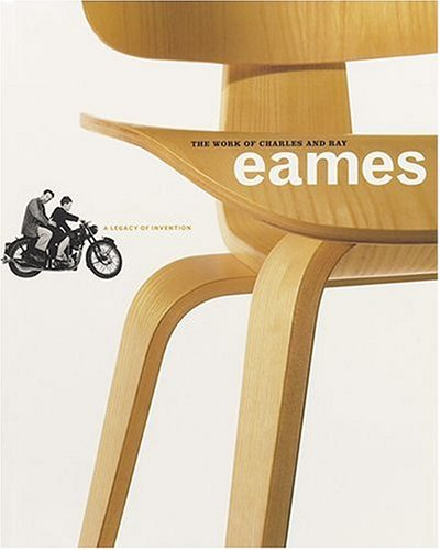 The work of Charles and Ray Eames: A legacy of Invention. Essays by Donald Albrecht, Beatriz Colomina, Joseph Giovannini, Alan Lightman, Helene Lipstadt and Philip and Phylis Morrison. - Eames, Charles and Ray
