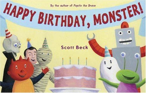 9780810993631: Happy Birthday, Monster!