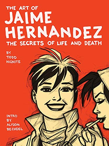 9780810995703: Art of Jaime Hernandez: The Secrets of Life and Death