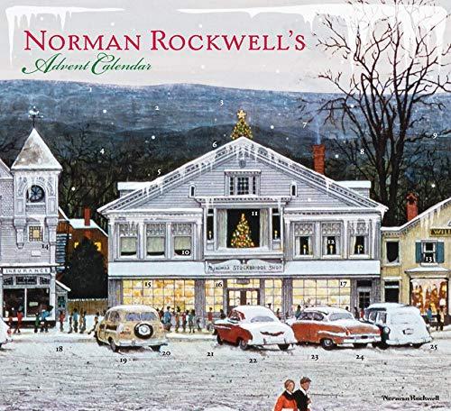 9780810995819: Norman Rockwell's Christmas Advent Calendar
