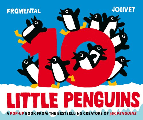 9780810995826: 10 Little Penguins Pop-up