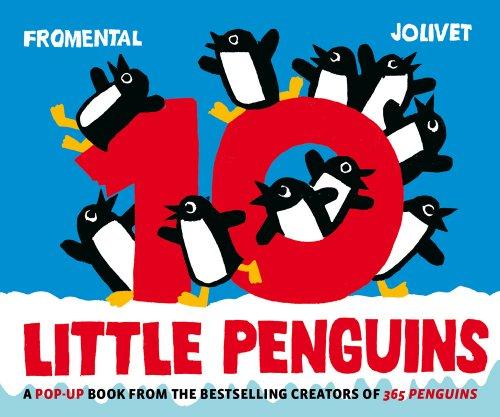9780810995826: 10 Little Penguins Pop-up