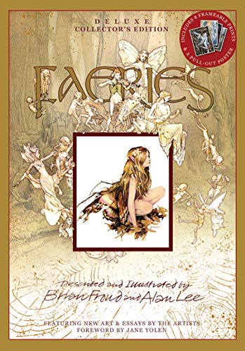 Faeries [With Poster and 8 Frameable Prints] (Hardcover): Brian Froud