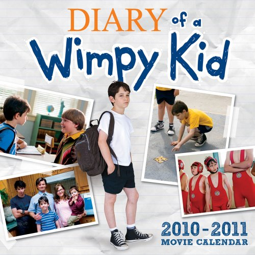 9780810996908: Diary of a Wimpy Kid 2010-2011 Calendar