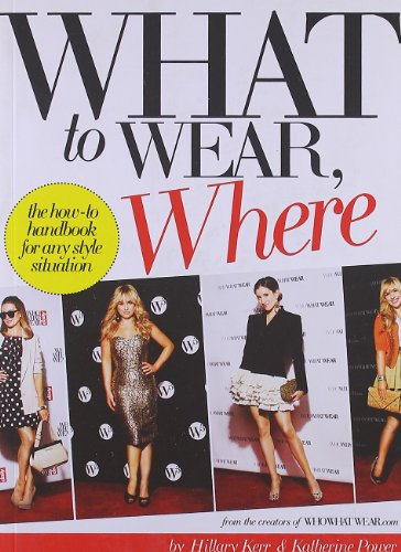 9780810997035: What to Wear, Where: The How-To Handbook for Any Style Situation