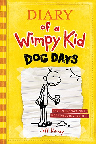 Diary Of A Wimpy Kid Dog Days Book For