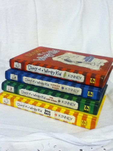 9780810997820: Diary of a Wimpy Kid Box of Books