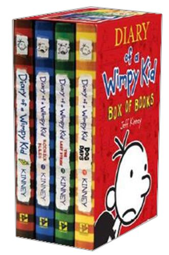 9780810997837: Diary of a Wimpy Box of Books: Books 1 - 4