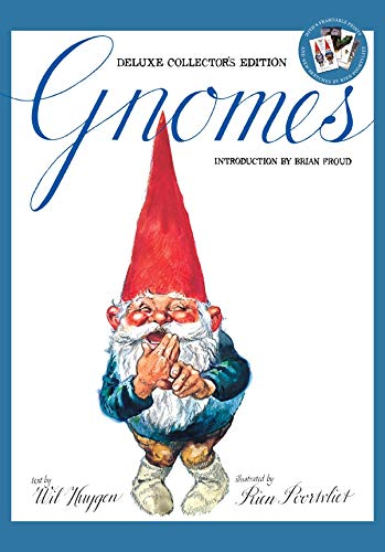 Gnomes [With Print] (Hardcover): Wil Huygen