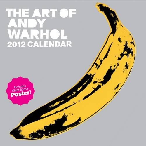 9780810998483: The Art of Andy Warhol 2012 Wall Calendar